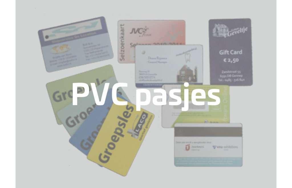 PVC pasjes – Clubcards