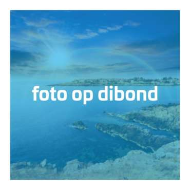 Foto op dibond